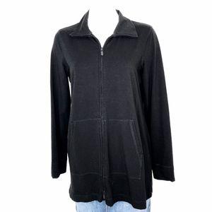 Eileen Fisher   Super Soft Zip Up Light Jacket